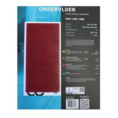 red-line-ondervloer